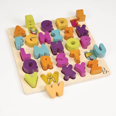 Btoys, masywne klocki w kształcie literek B. Toys