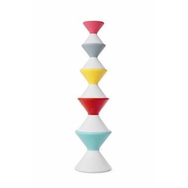 Zabawka konstrukcyjna Stack & Roll Cones KID O