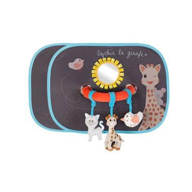 Zasłonki z elementami do zabawy Żyrafka Sophie