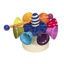 Kolorowe cymbałki-dzwonki w formie karuzeli - OLBRZYMIE