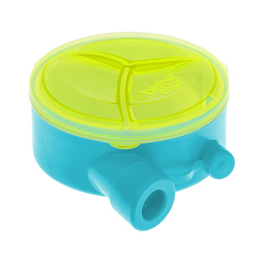 Pojemnik na mleko w proszku niebiesko- zielony