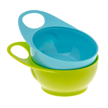 Zestaw miseczek Easy Hold niebiesko- zielone