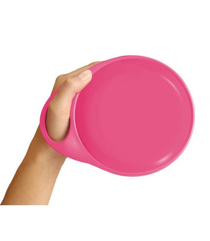 Talerzyki Easy Hold różowo- zielone