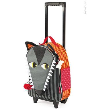 Janod, walizka na kółkach Wilk,
