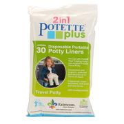 Jednorazowe torebki do nocnika Potette Plus 30 sztuk