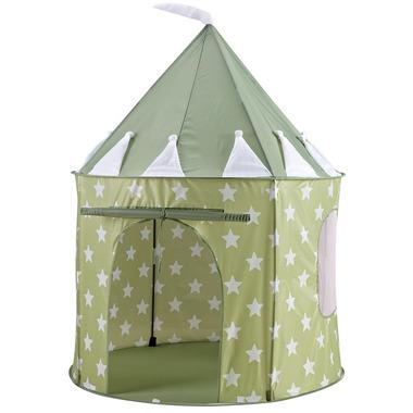 Namiot Zielony w Gwiazdy Kids Concept