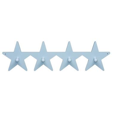 Wieszak w kształcie Gwiazdek Niebieski Kids Concept