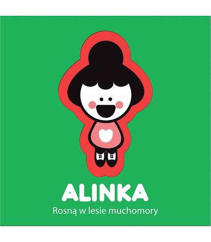 ALINKA, ROSNĄ W LESIE MUCHOMORY