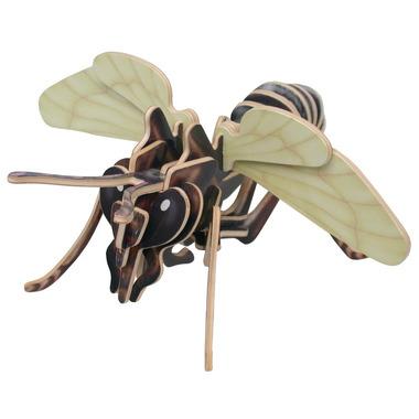 Drewniane puzzle 3D zwierzęta - SZERSZEŃ