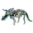 Drewniane puzzle 3D dino -TRICERATOPS