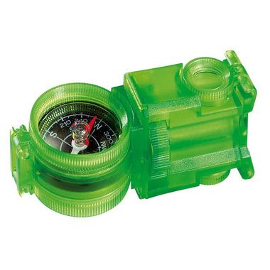 rozkładany przyrząd optyczny z kompasem