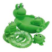 zestaw do kąpieli rodzina żab