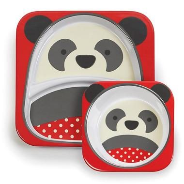 Skip Hop, zestaw jedzeniowy Zoo Panda