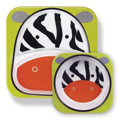 Skip Hop, zestaw jedzeniowy Zoo Zebra