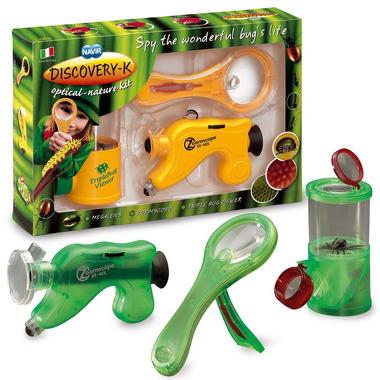 zestaw max : pojemnik do obserwacji, mikroskop, ekstra lupa
