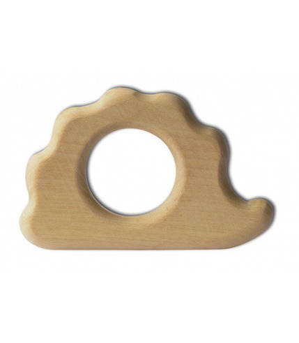 Naturalny drewniany gryzaczek Jeż