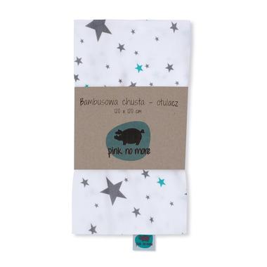 Bambusowa chusta/otulacz – Gwiazdy 120x120cm