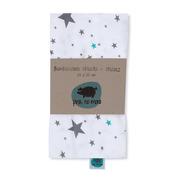 Bambusowa chusta – Gwiazdy 120x120cm
