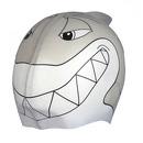 Silikonowy czepek dla dzieci SwimFin - SZARY