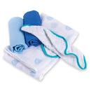 Zestaw Prezentowy pieluszek i myjek Żaglówki