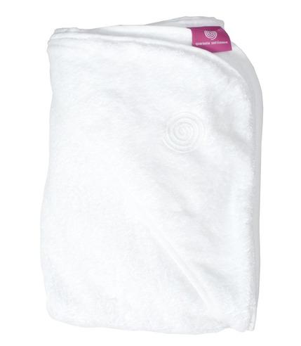 Ręcznik do kąpieli dla dziecka  - BABYHUG biały
