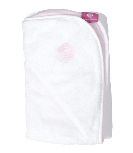 Ręcznik do kąpieli dla dziecka  - BABYHUG różowy