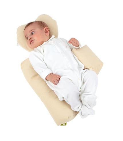 Eko poduszka stabilizująca dla niemowląt - NATI NATURALI beż