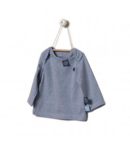 Nowość Snoozebaby Koszulka z długim rękawem niebieska rozm.62