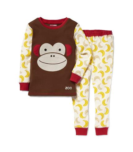 Pidżama Zoo Małpa 3T
