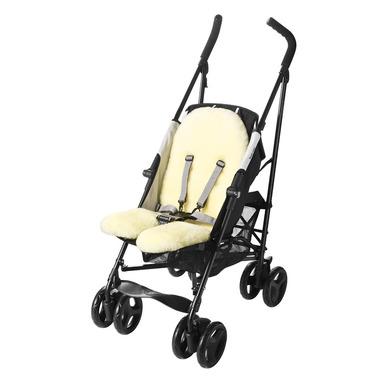 Wkładka z jagnięcej wełny do wózka - NATI NATURALI