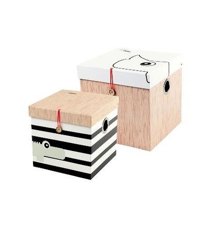 Pudełka Duże 2 Sztuki