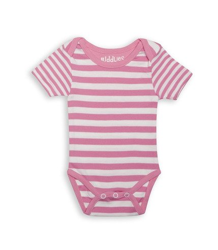 Body Sachet Pink Stripe 0-3m