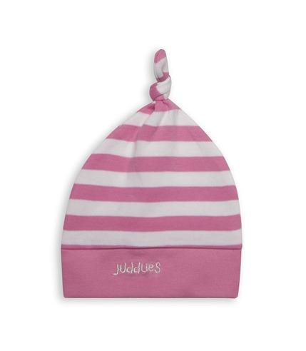 Czapka Niemowlęca Sached Pink Stripe