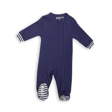 Pajacyk Patriot Blue Solid Newborn