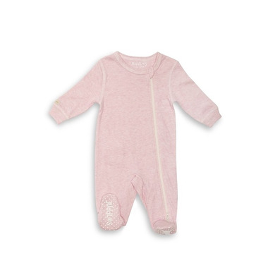 Pajacyk Pink Fleck 6-12m