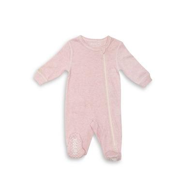 Pajacyk Pink Fleck Newborn