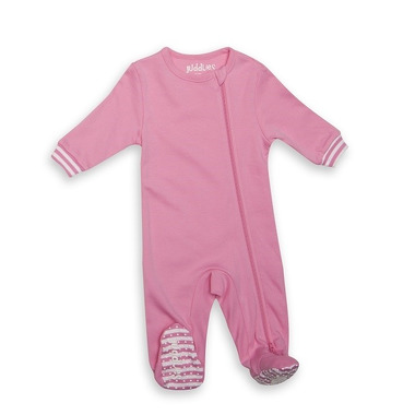 Pajacyk Sachet Pink Solid 0-3m