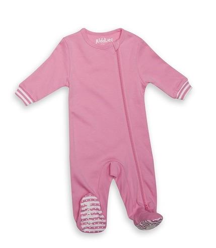 Pajacyk Sachet Pink Solid 3-6m