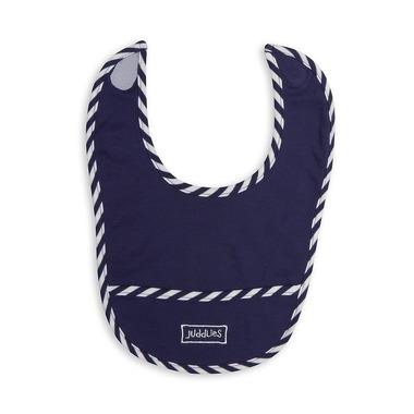 Śliniak Z Kieszonką Patriot Blue Solid