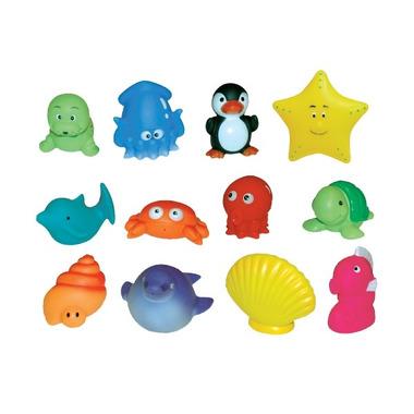 Zabawki Do Kąpieli 12 Zwierzątek