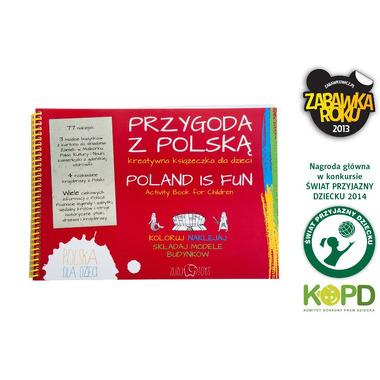 Przygoda z Polską - kreatywna książeczka