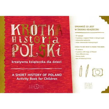 Krótka Historia Polski – kreatywna książeczka