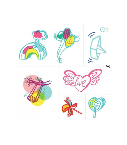 Zmywalne Tatuaże Dla Dzieci Letnie Wzory