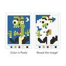 Mudpuppy, kolorowanka pixele - Potwory