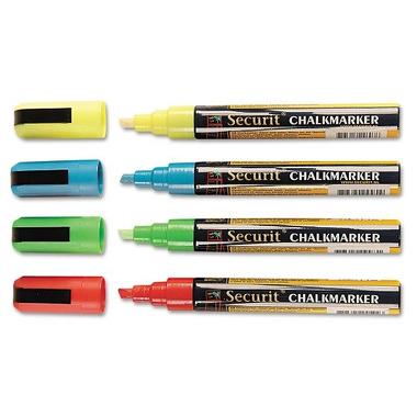 Markery Kredowe Kolorowe 2-6mm Wallies