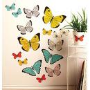 Naklejki Pastelowe Motyle