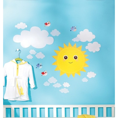 Naklejki Słoneczna Pogoda