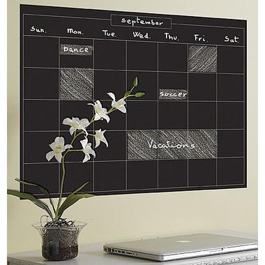 Naklejki Tablica Kredowa Miesiąc Kalendarzowy