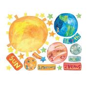 Naklejki Układ Słoneczny