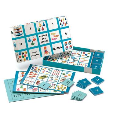 Djeco, gra bingo - 60 lat - edycja limitowana